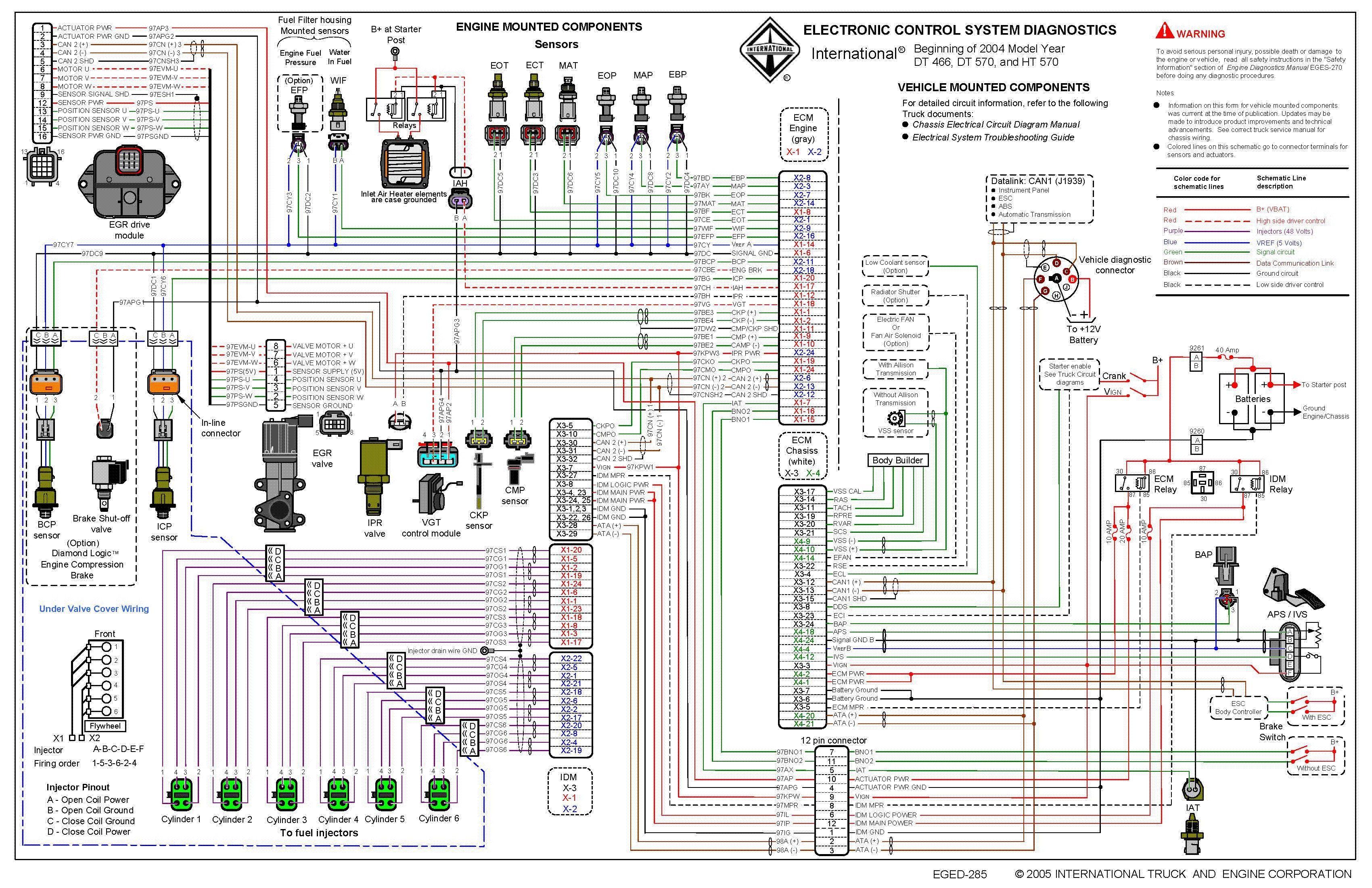 Ih Truck Wiring Diagram
