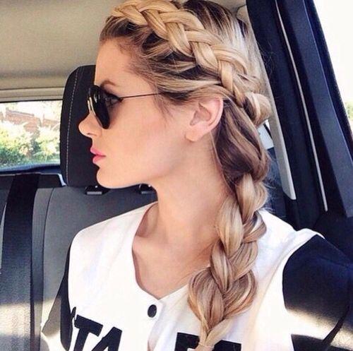 This braid  #hair #beauty #style #braid #fashion #cute