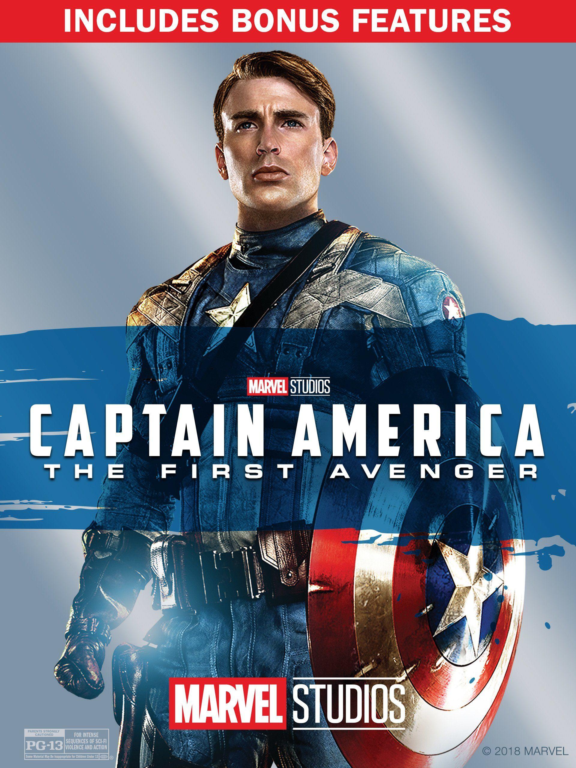 Capitan America El Primer Vengador 2011 Captain America Movie Captain America Captain America Poster