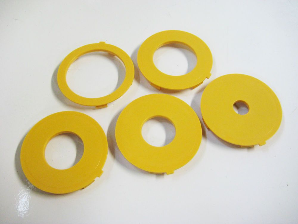 Set of 3 Router Table Insert Ring Set 97mm OD Fits Sears Craftsman Ryobi Bosch /& Others