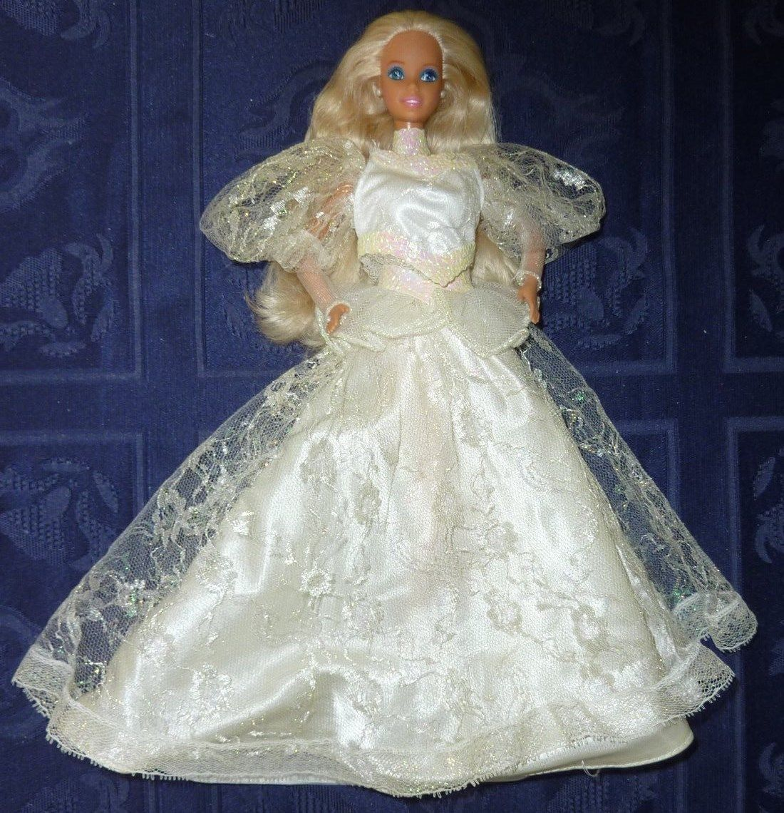 Vintage 80's Barbie Bride Doll Bridal Clothes Lot TNT Wedding Gown Pearl Jewelry | eBay