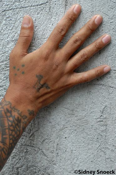 Prison Tattoos And Their Secret Meanings Five Dots Dont Confuse This One With The Three Dots Tattoo The Five Prison Tattoos Tattoos With Meaning Dot Tattoos