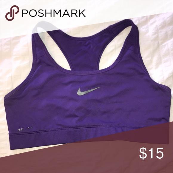 9a6e282e9a234 Purple Nike Sports Bra Dri Fit Nike Intimates   Sleepwear Bras