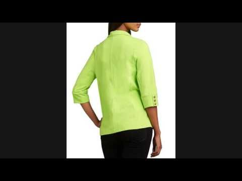 SALE!! Neon Buddha Urban Knit Two-Button Blazer