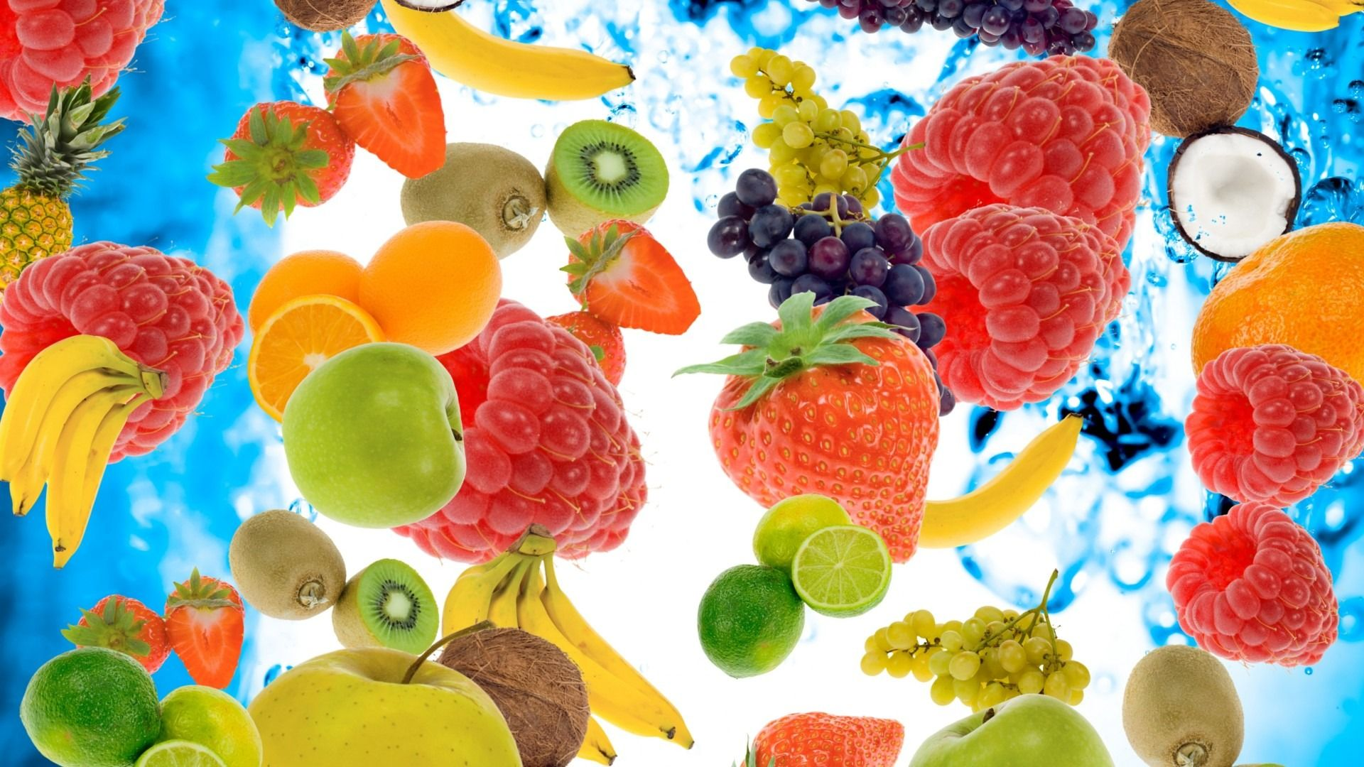 Fruits And Water Hd 1080p Wallpapers Download 98658 Pinterest