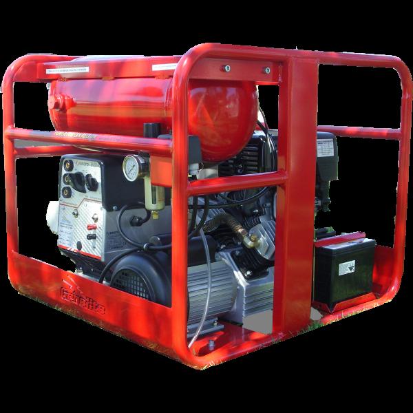 Genelite 7kVA 3 in 1 Welder Generator Workstation, powered