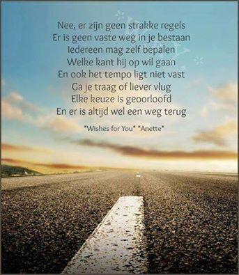 Een weg...