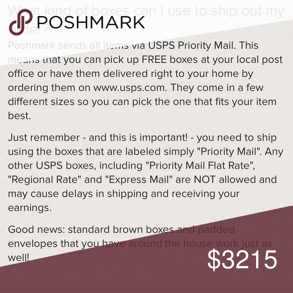 FAQ: Shipping packages! DOs and DON'Ts of SHIPPING Poshmark makes it