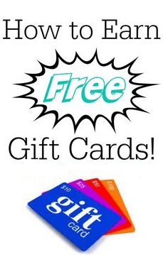 how to get free gift card online and make money from it free gift