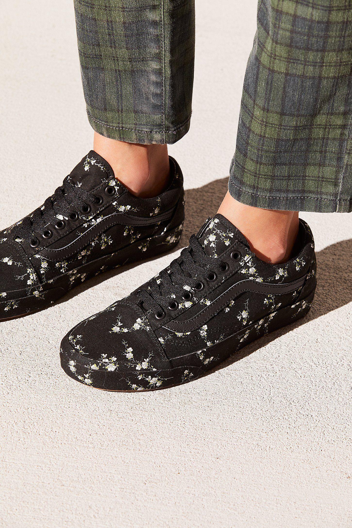 Old Skool Midnight Floral Sneaker | Floral sneakers