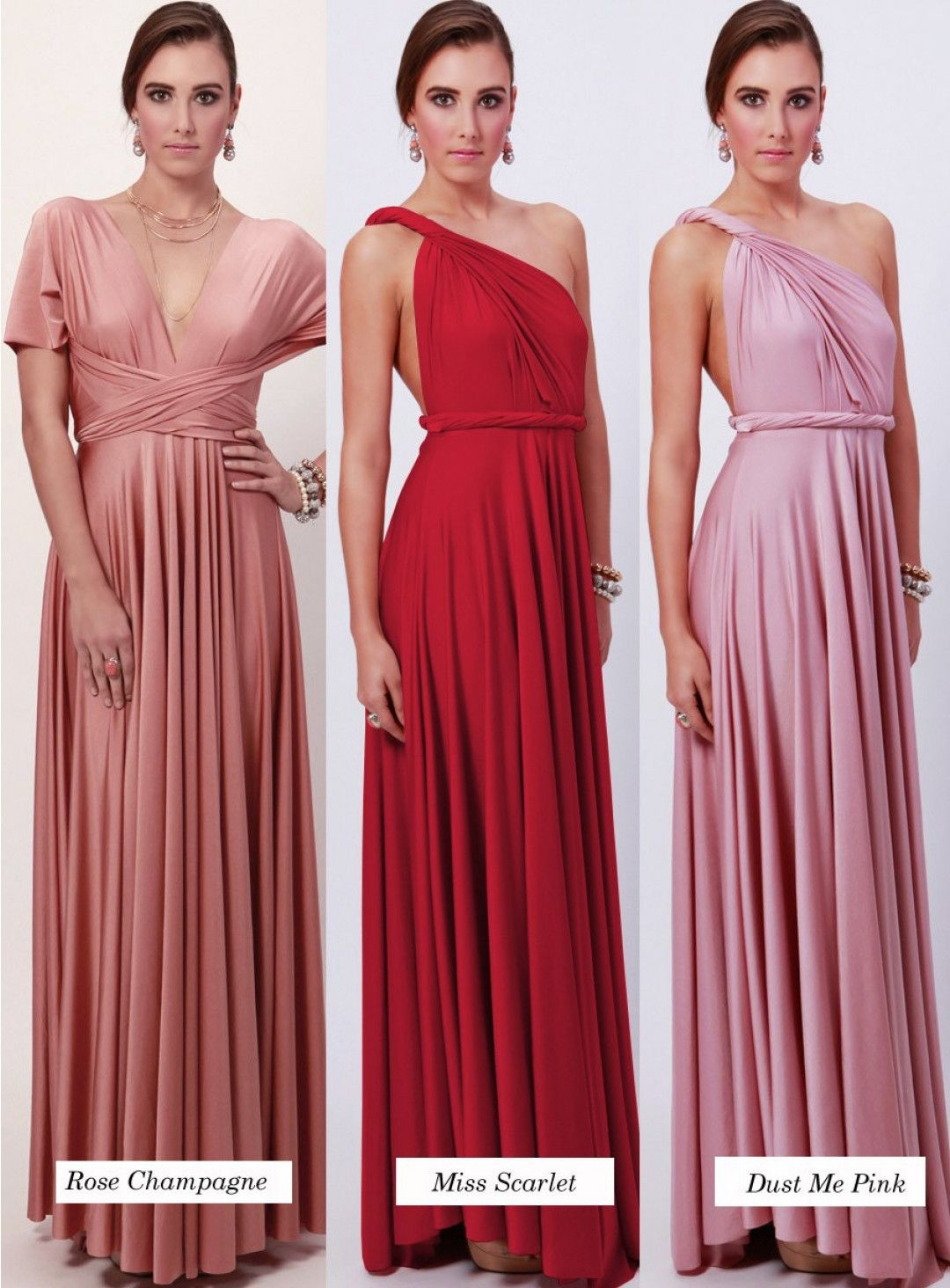 Multiway ballgown dress dresses are custom made to order so no the convertible maxi dress by goddess by nature is similar to the two birds convertible dress one dress can be worn in over 30 different ways ombrellifo Images