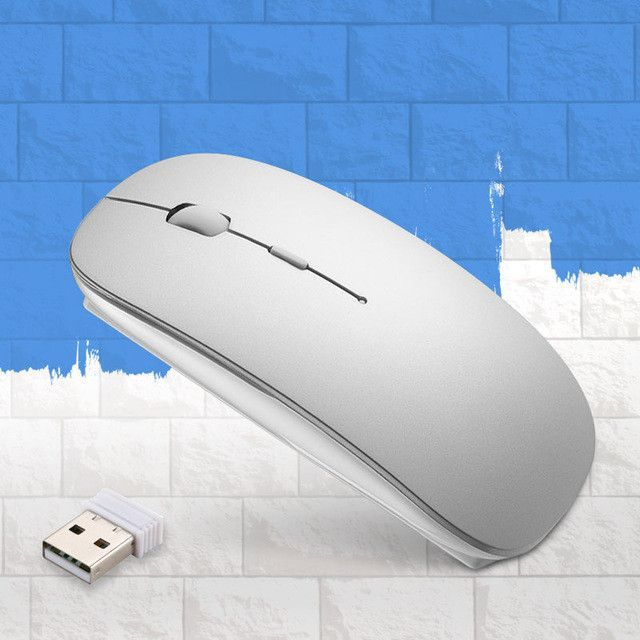 Wireless Mouse for Macbook 2.4G Computer Mute Mice Sem Fio