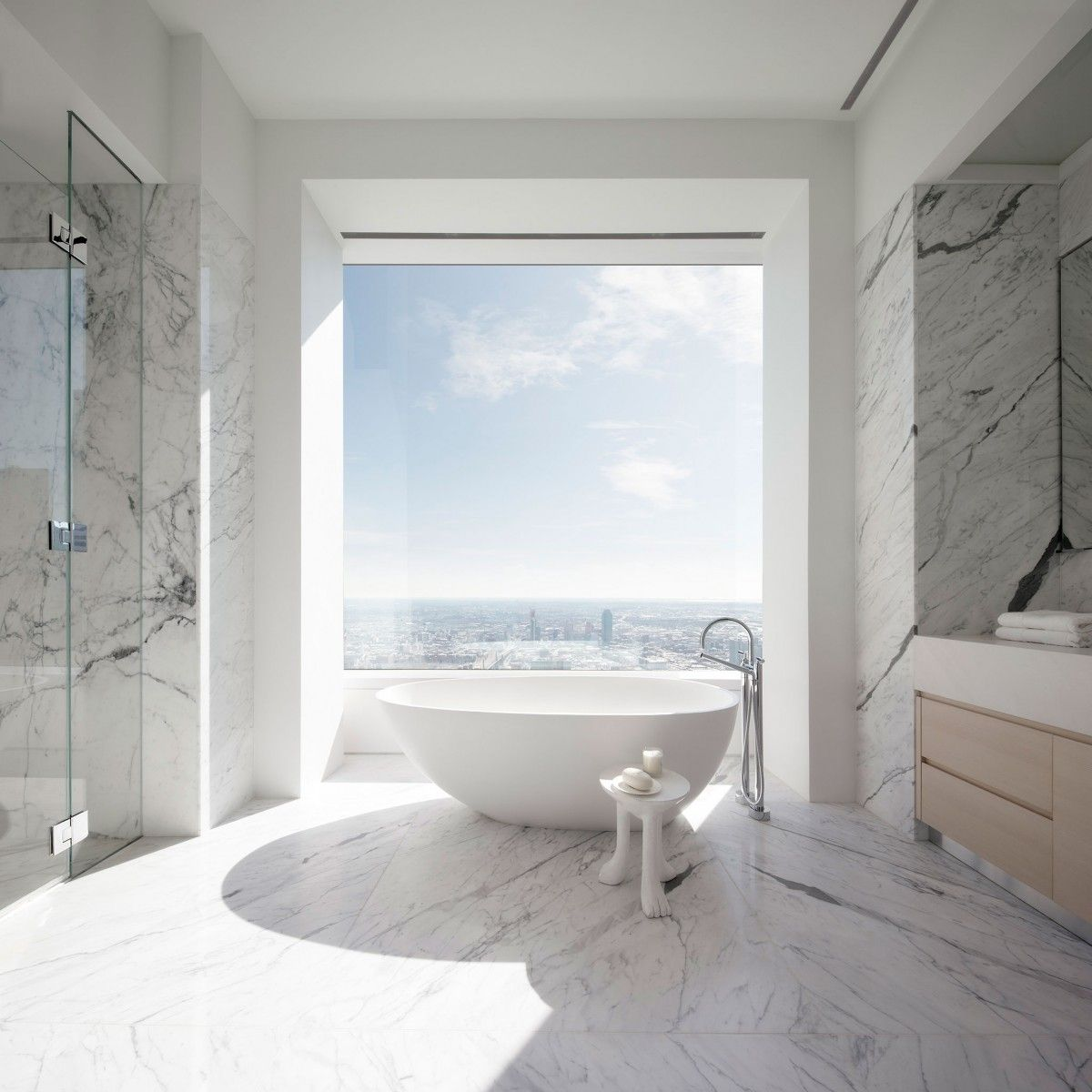 New Images Reveal 432 Park Avenue\'s Luxury Amenity Spaces | Tubs ...