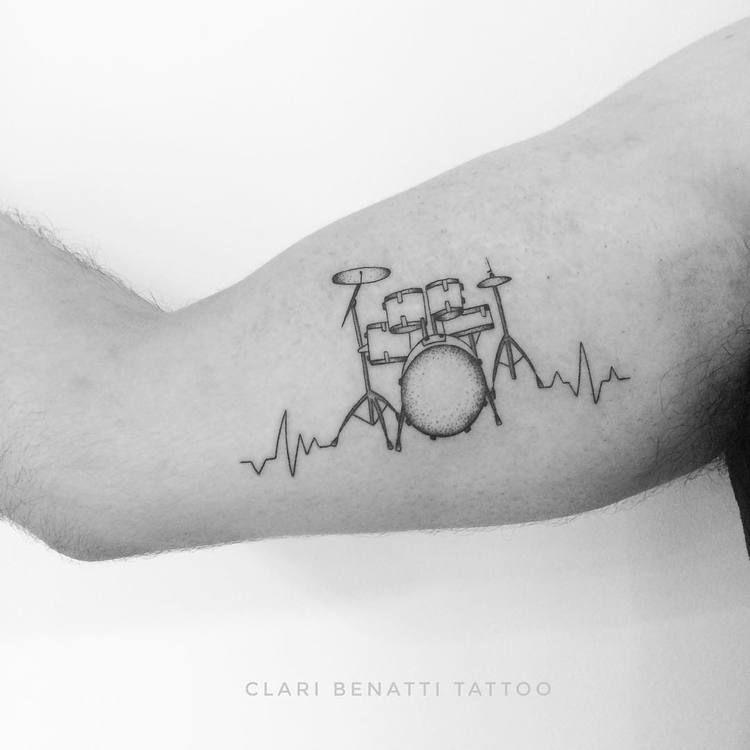 40 Beautiful Ornamental Tattoo Designs By Clari Benatti Tattooadore Music Tattoo Designs Trendy Tattoos Drum Tattoo