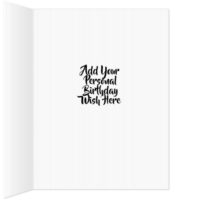 Black Faded Happy Birthday Add Your Photo Jumbo Card Zazzle Com Birthday Cards For Boys Birthday Cards For Him Happy Birthday