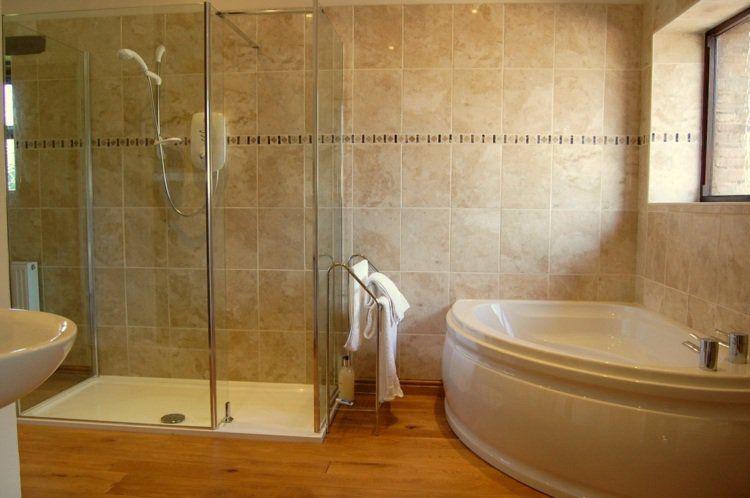 salle de bain avec douche italienne en quelques ides dco - Salle De Bain Avec Douche Italienne Et Baignoire