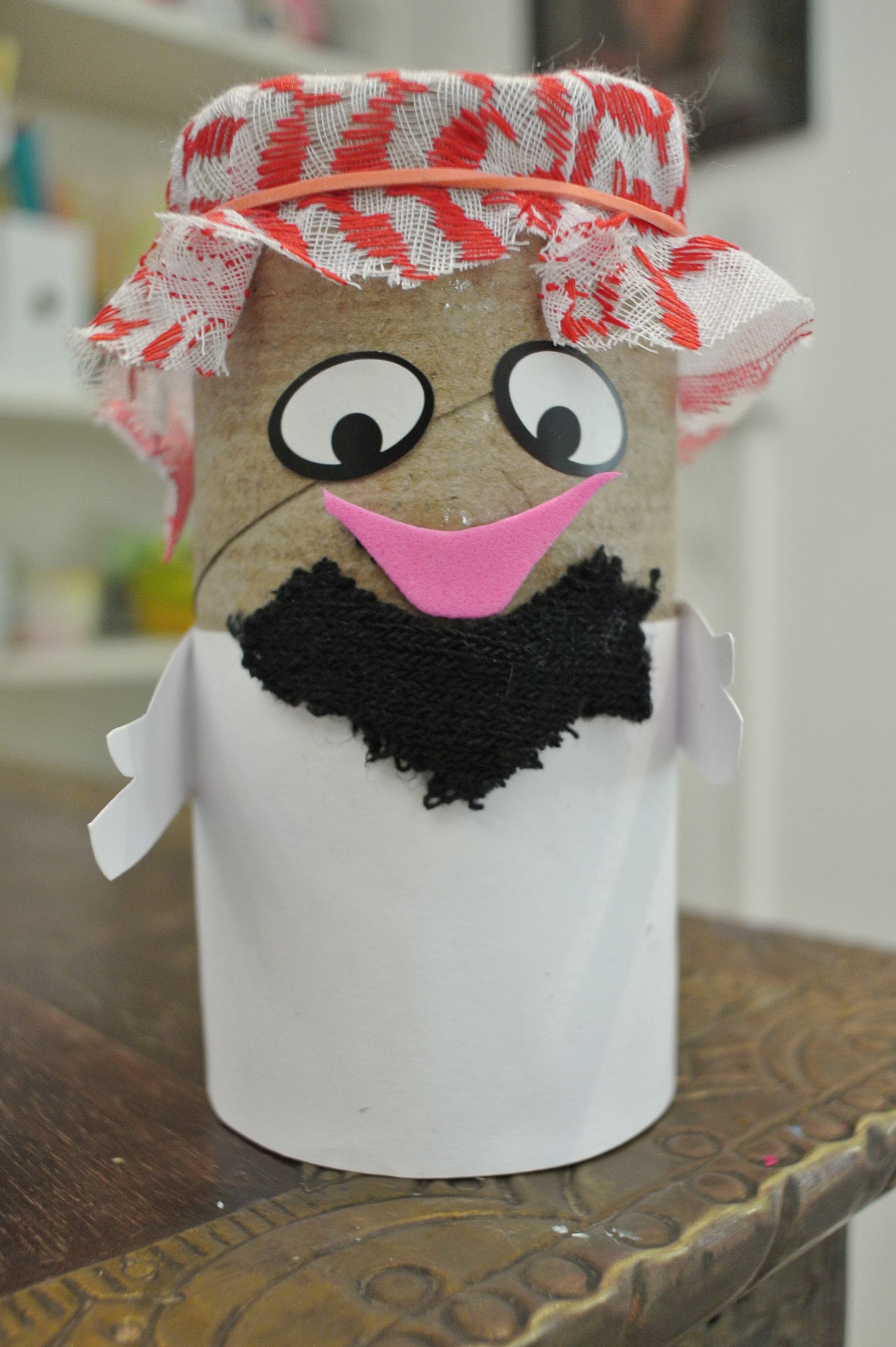 Innovative Ideas For Classroom Decoration ~ We made this chap to celebrate uae national day places