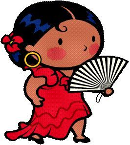 Clip Art Spanish Clip Art 1000 images about spanish graphics on pinterest children and salsa