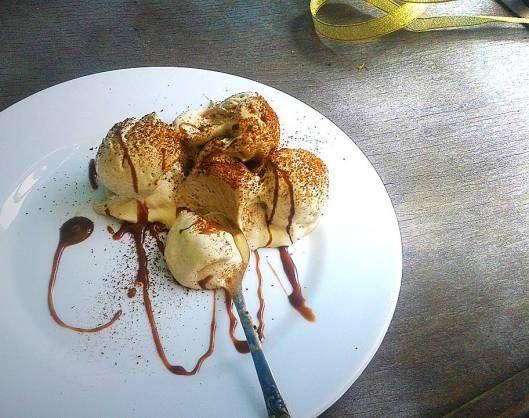 heavenly homemade espresso ice cream / հիանալի էսպրեսսոյով պաղպաղակի ռեցեպտ
