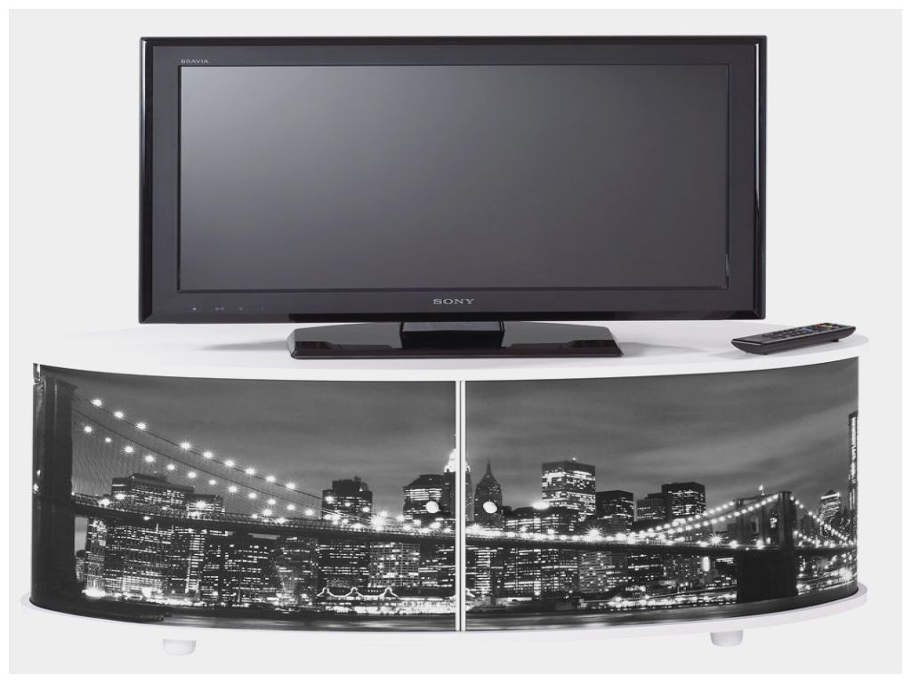 Inspirant meuble tv new york blanc meuble tv new york blanc