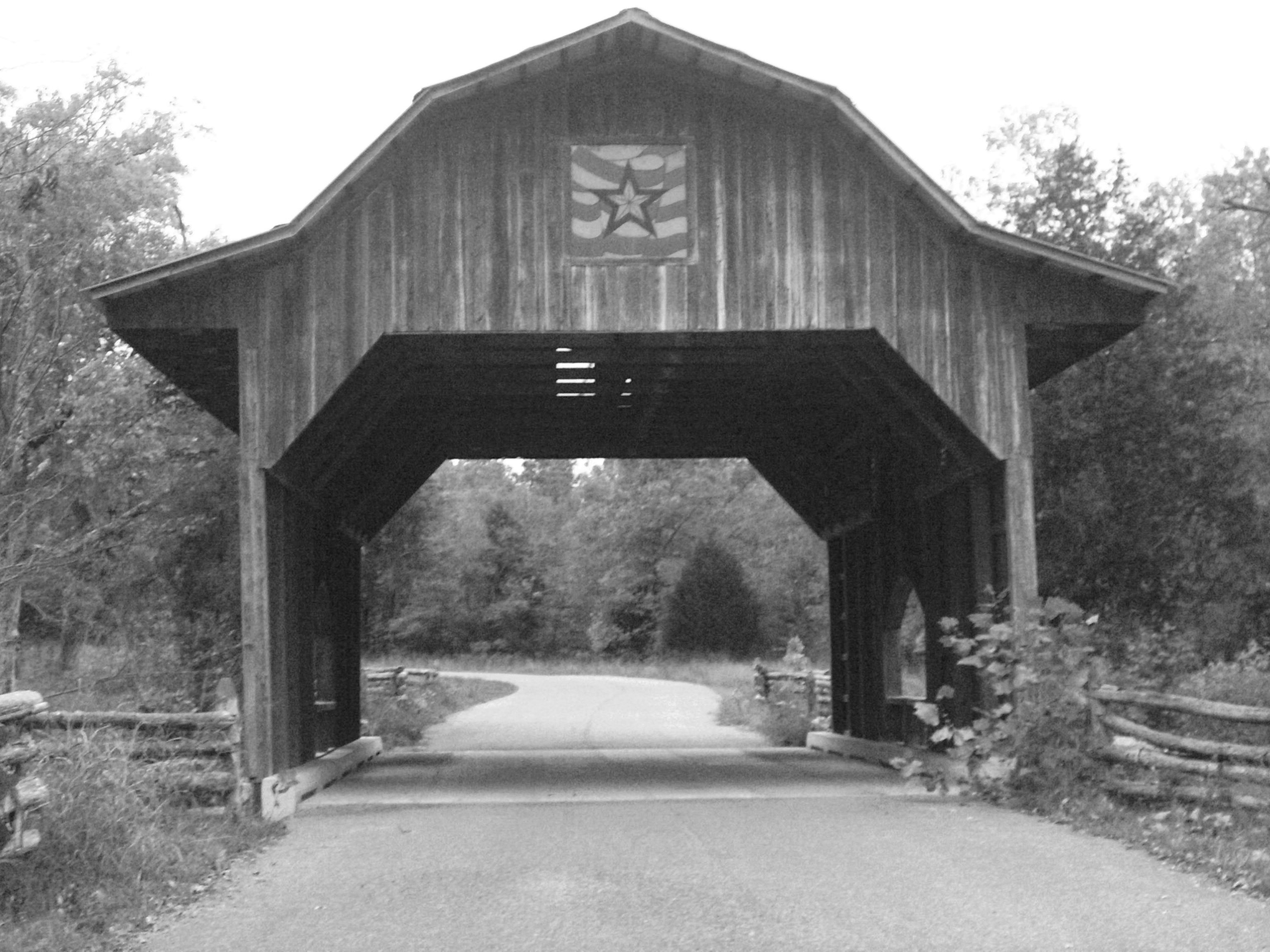 covered bridge we went to by my house...its so beautiful...