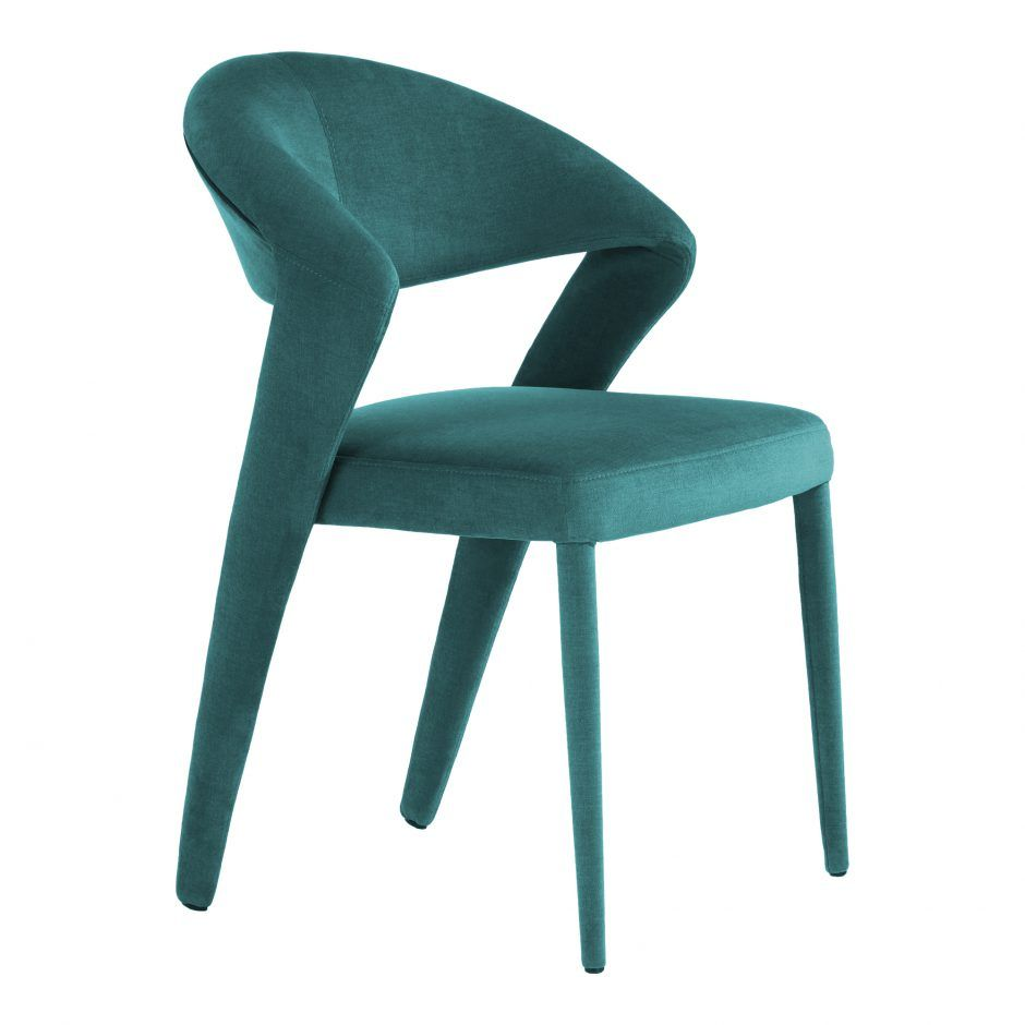 Lennox Dining Chair Green M2 Dining Chairs Moe S Wholesale Side Chairs Dining Dining Chairs Modern Dining Chairs