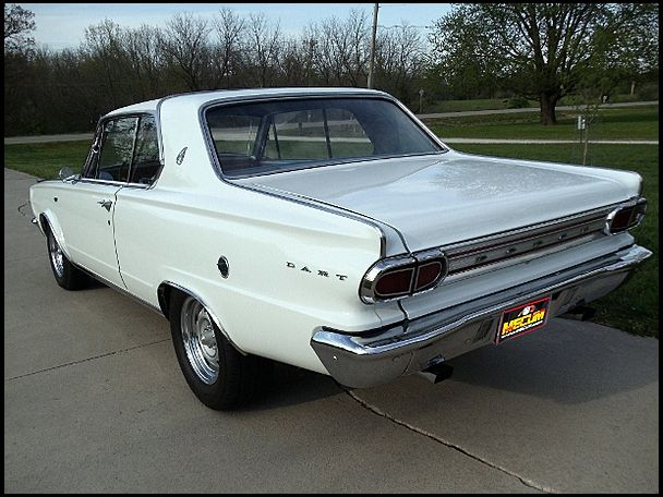 1966 Dodge Dart Gt 273 235 Hp Automatic Dodge Dart Gt Dodge