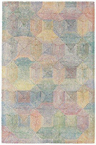 Teppich Wohnzimmer Carpet modern Design CAMDEN ABSTRAKT RUG 100 - Teppich Wohnzimmer Braun