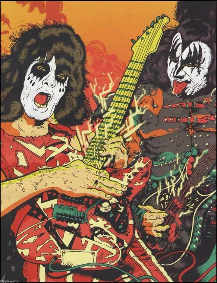 If Gene Simmons had his way Eddie Van Halen would have been a ...