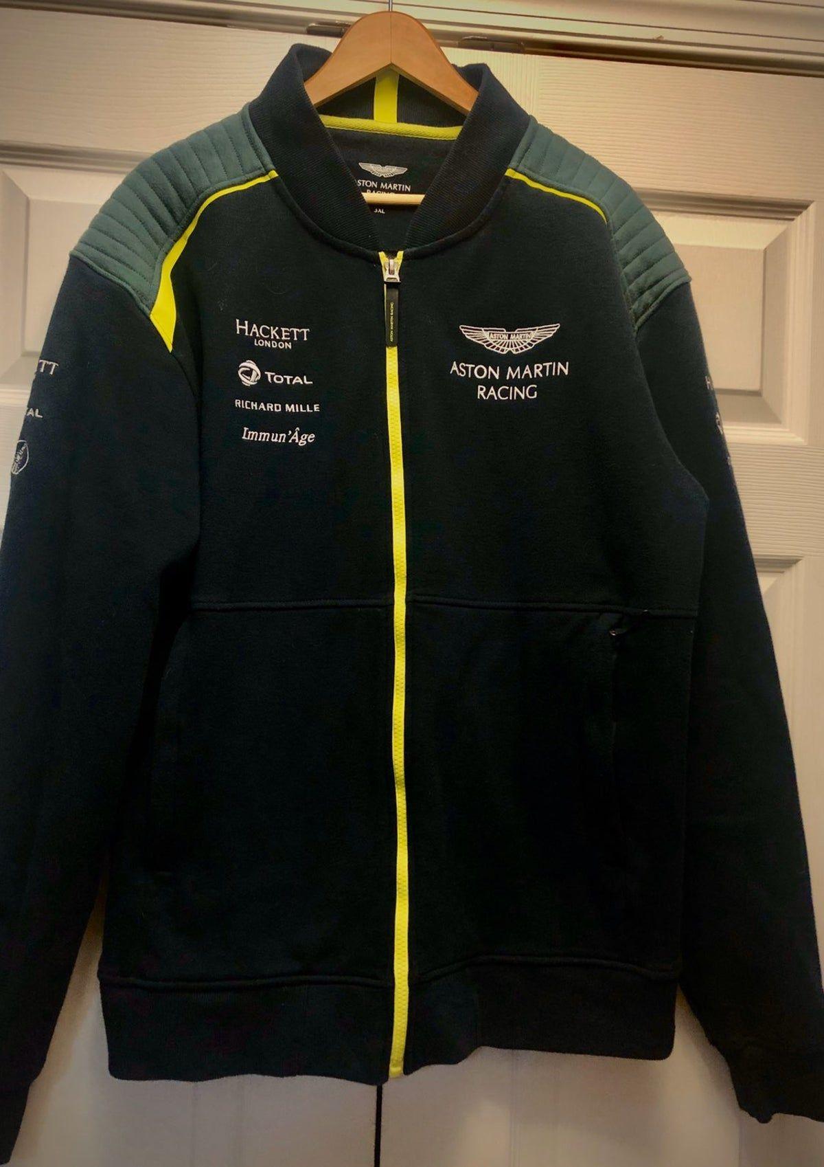 Men S Aston Martin Racing Jacket On Mercari Jackets Sweatshirt Jacket Sweatshirts