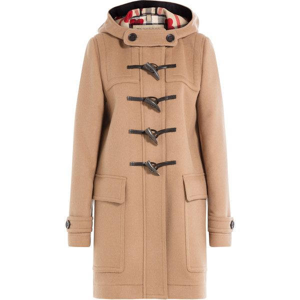 Burberry wool coat toggle
