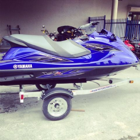 2013 Yamaha VXR 2-3 Passenger Seated , Blue for sale in