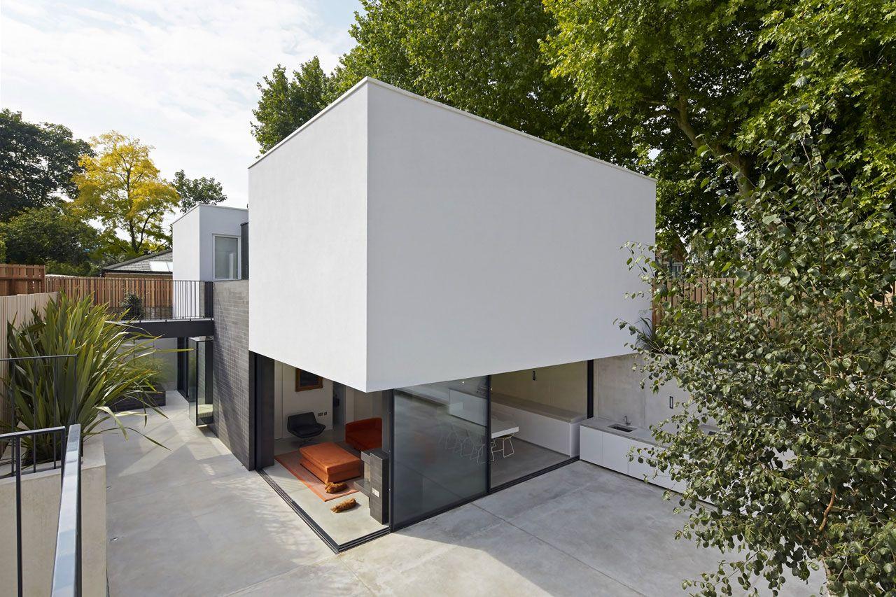 Modern garden house  garden house  de matos ryan  houses  Pinterest  Garden houses