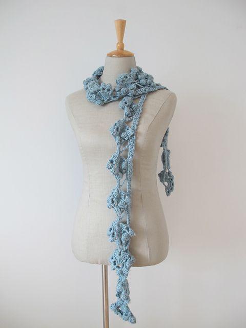 Ravelry: 7. Edgy Crochet Scarf (UK) pattern by Erika Knight ...