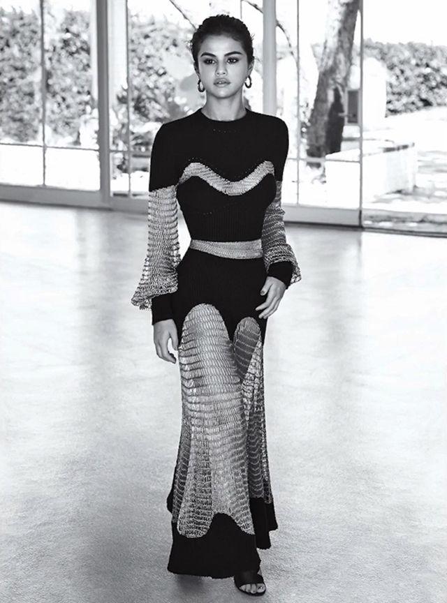 Selena Gomez na capa da revista InStyle Americana   Pinterest