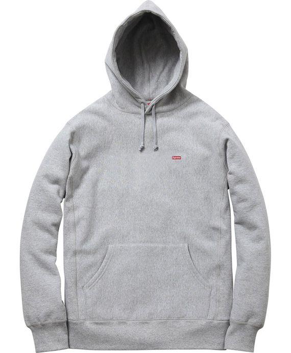 supreme small box logo hoodie