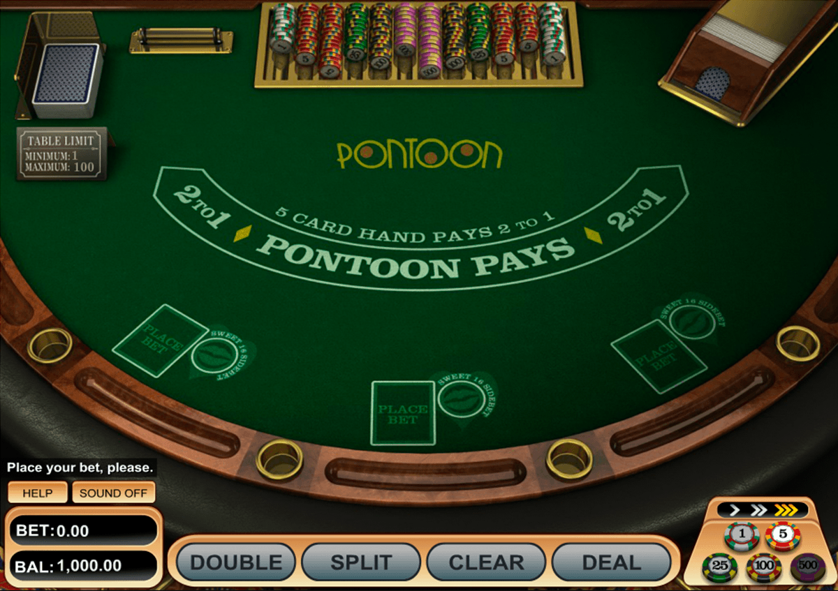 Pontoon Blackjack is an exciting model that comes from the
