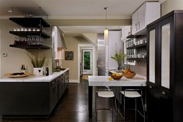 4 Design Tips To Brighten A Dark Kitchen Drummond House Plans Blog Top Kitchen Designs White Modern Kitchen Modern Kitchen Design