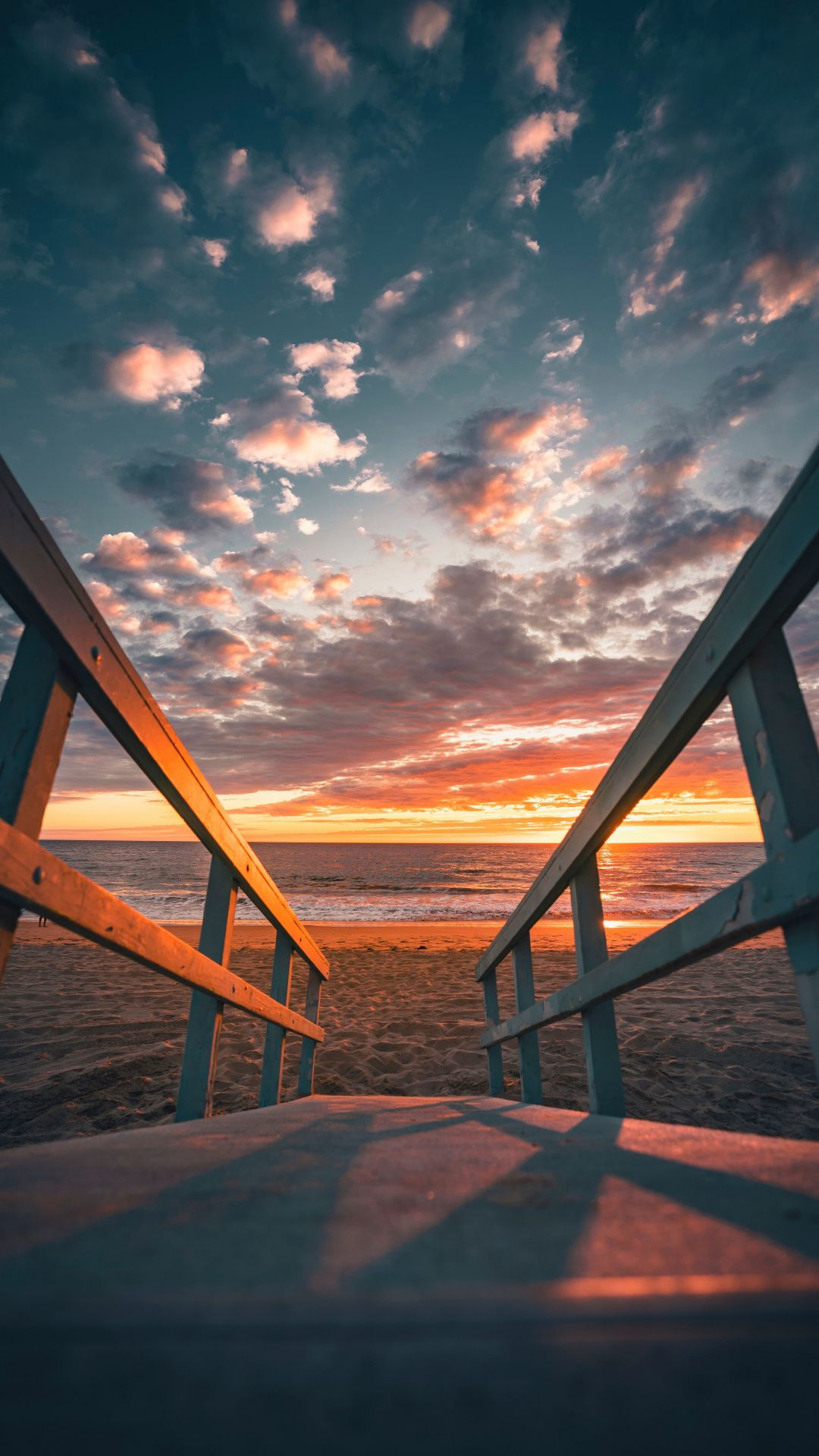 Sunset Beach Sand Fence 1080x1920 Wallpaper Sunset Nature Photoshop Actions For Photographers Nature