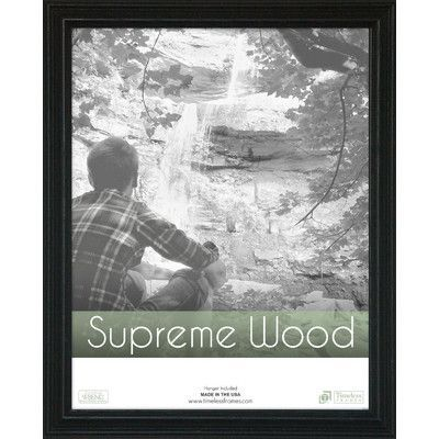 Beachcrest Home Rectangle Solid Wood Picture Frame Size: 16\