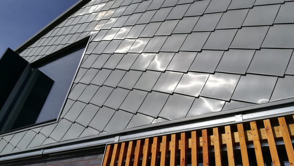 Zinc Roofing And Shingle Cladding At Lady Bee Enterprise