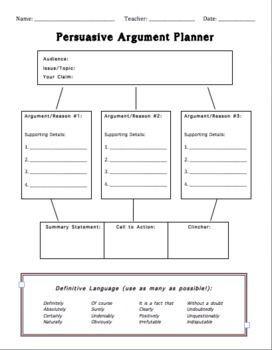 help me write an argumentative essay