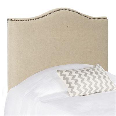 Safavieh MCR4 Jeneve Winged Headboard | *Bedroom Furniture ...