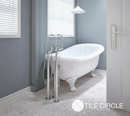 Aspen White Marble 1 X 1 Square Tile Best Bathroom Flooring Bathtub Tile White Bathroom Tiles