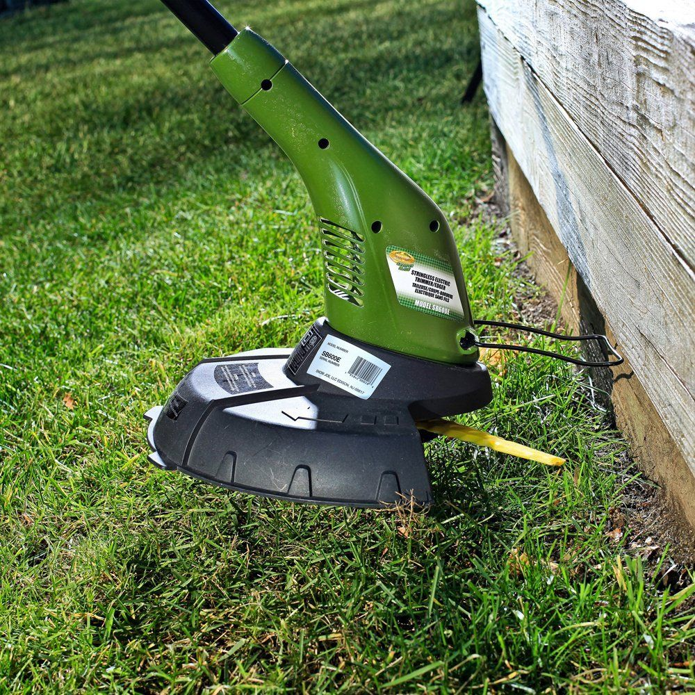 Sun Joe Sb601e Sharper Blade Stringless Electric Trimmer Edger Electric Weed Trimmer Bed Tools Lawn Blade