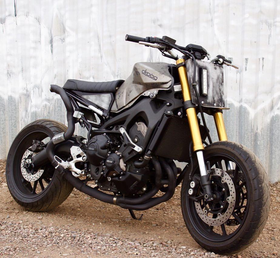 Moto yamaha scrambler cars motorcycles bobber forward mt09 yamaha - On Bikebound Com Yamaha Fz 09 Sweet Sled By Droogmoto