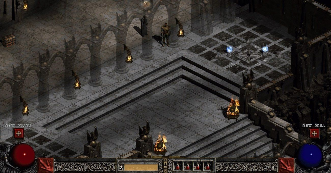 Diablo 2 remaster with AI upscaling looks DEVILISHLY good (With ...