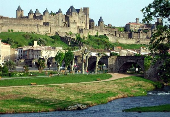 Carcassonne walled city France