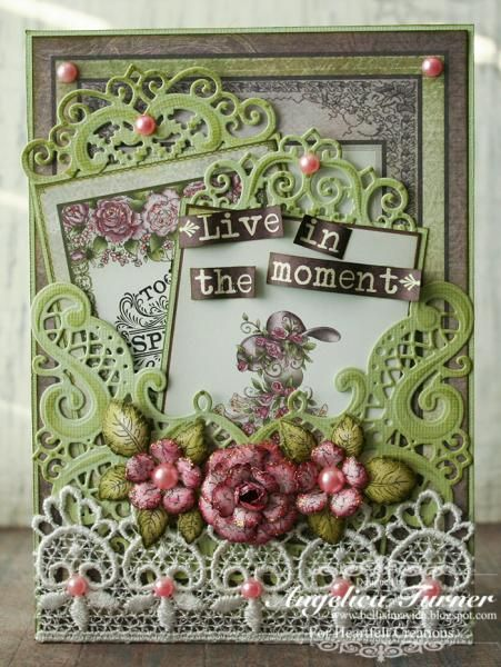 Live in the Moment by AngelicaTurner - Cards and Paper Crafts at Splitcoaststampers