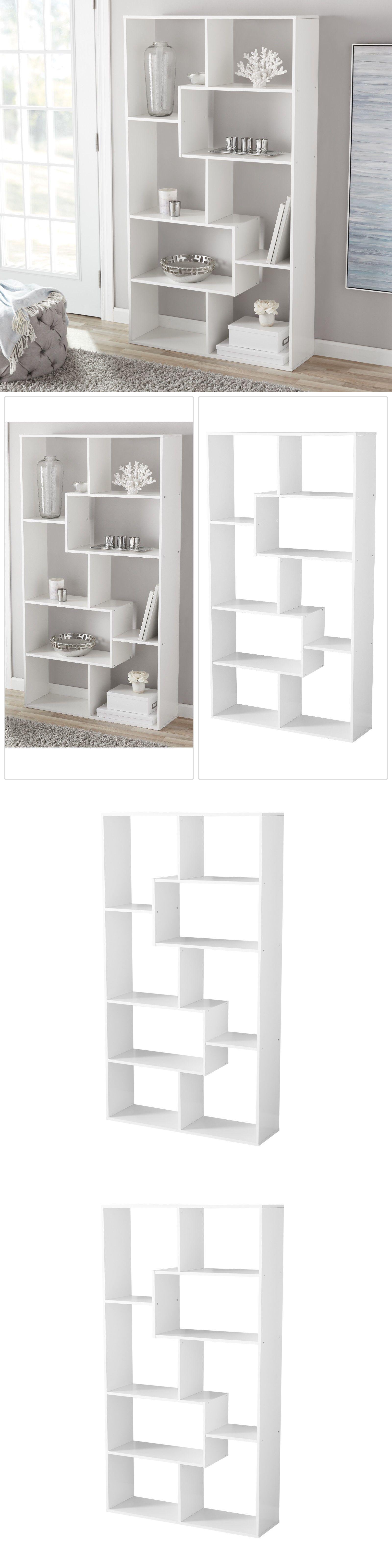 Bookcases 3199 Tall Bookcase Storage Cube Open Bookshelf Modern 8